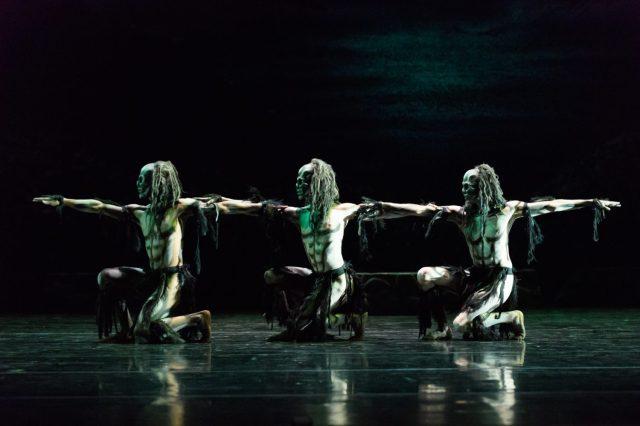 GHOST DANCES, Festival Theatre, Edinburgh, Britain - 22 Nov 2016