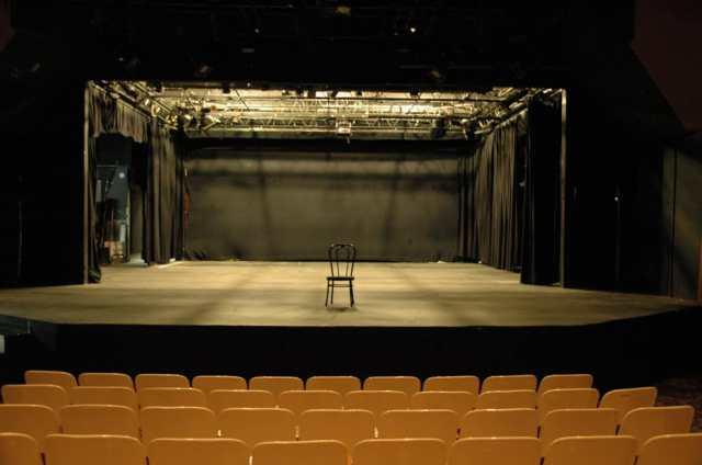 aurora fox empty stage