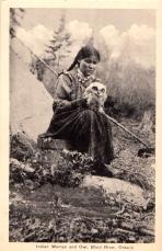 ugle med indianerkvinne og omvendt